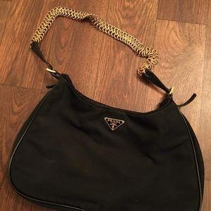 Small Black Prada Handbag